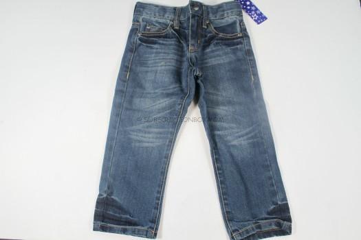 classic straight denim jeans