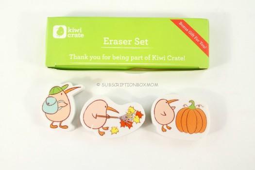 Kiwi Crate Erasers