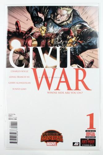 Civil War #1 by Charles Soule & Leinil Yu - Marvel Comics
