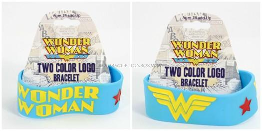 Wonder Woman Two Color Logo Bracelet