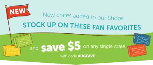 Kiwi Crate Brand Store Coupon + Subscription Coupons