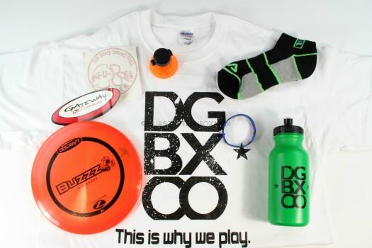 Disc Golf Company Subscription Box September 2015 Review