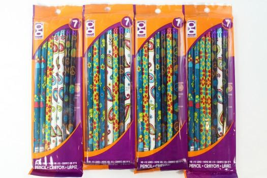 Retro Pencils 4 pack