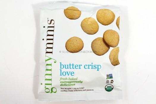 Ginny Minis Butter Crisp Love Cookies