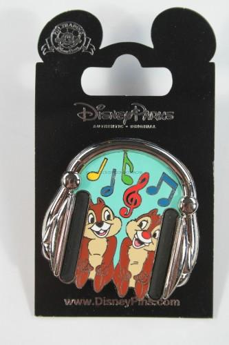 Chip & Dale Music Pin