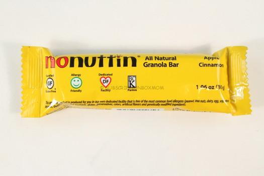 NoNuttin All Natual Granola Bar
