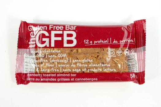 The GFB Cranberry Toasted Almond Bar: