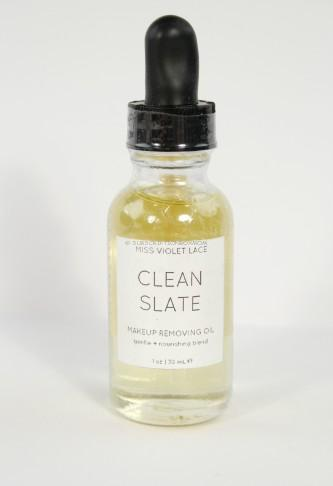 Clean Slate Makeup Removing Oil by Miss Violet Lace