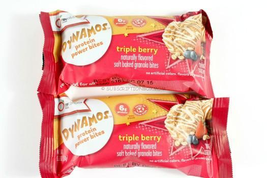 Dynamos Triple Berry Protein Bites