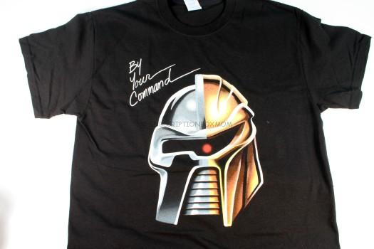 "Exclusive Shirtpunch T-Shirt ""By Your Command"""
