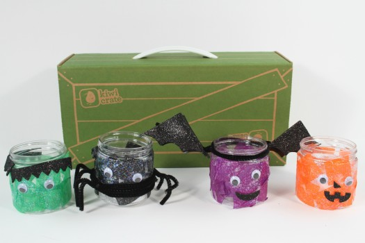 Kiwi Crate Halloween Lights Review