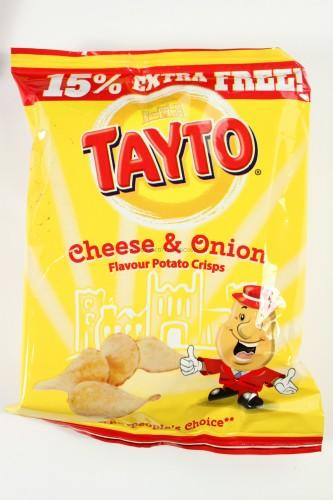 Tayto Cheese & Onion Flavored
