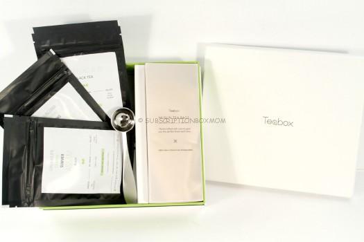 Teabox September 2015 Review