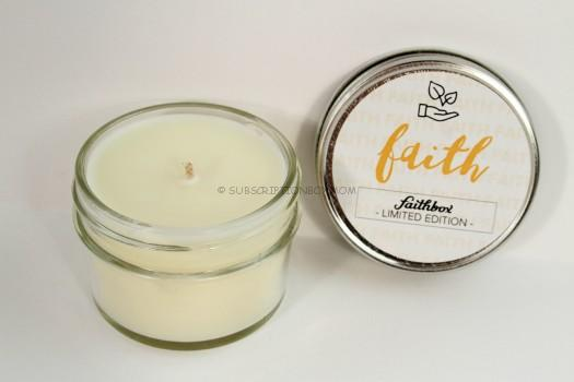Claro Candles - Faith