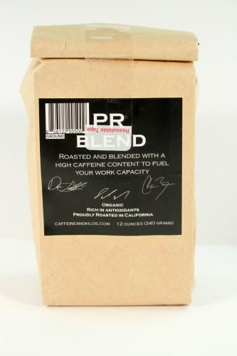 Roaster Dave's Signature Blend Caffeine and Kilos Coffee