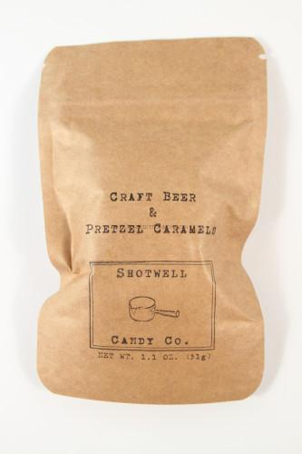 raft Beer & Pretzel Caramels from Shotwell Candy