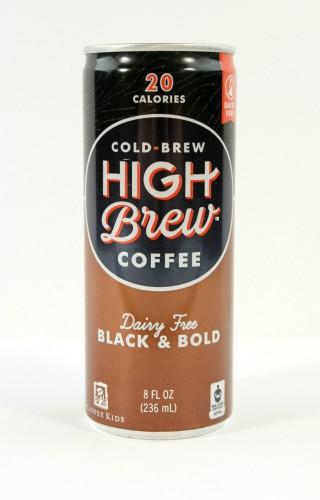 High Brew Coffee Black and Bold