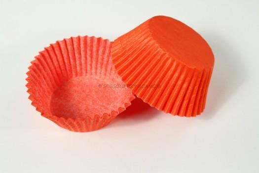 Orange Cupcake Liners