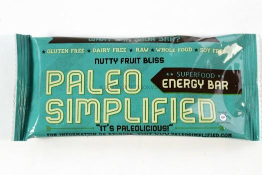 Paleo Simplified Superfood Energy Bar
