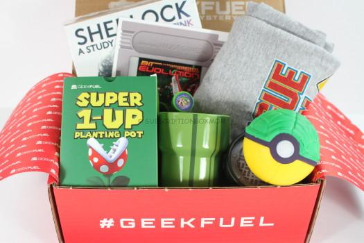 Geek Fuel June 2016 Review