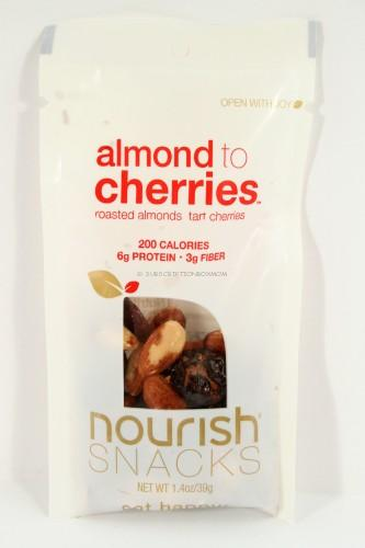 Nourish Snacks Almonds to Cherries