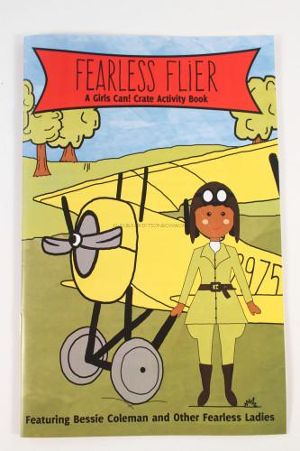 Fearless Flier A Girls Can! Crate Activity Book