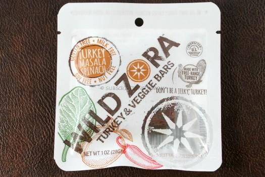 Wild Zora Turkey Masala & Spinach Jerky Bar