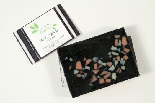 Jacq's Organics Fancy Detox Cleansing Bar