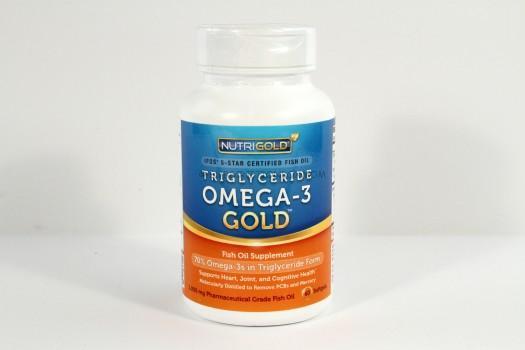 NutriGold Triglyceride Omega-3 Gold