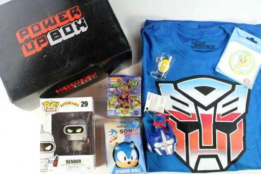 Power Up Box August 2015 Review
