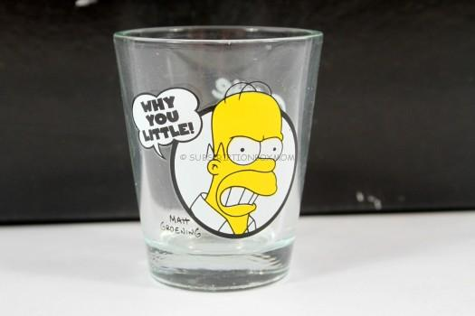 Simpsons Shot Glass