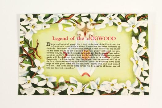Legend of the Dogwood Pin