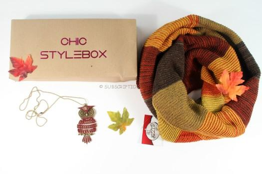 Chic Stylebox September 2015 Review