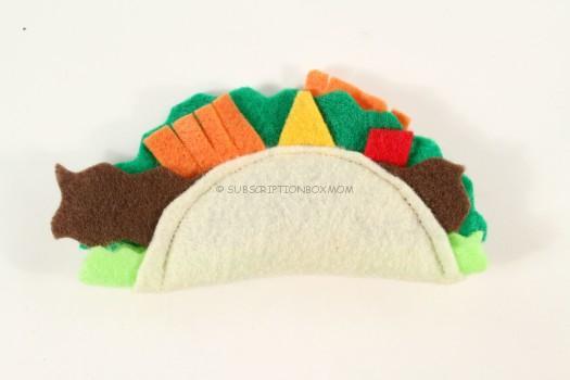 Handmade LeKiwi's Crazy Catnip Taco