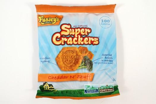 Funley's Super Crackers Cheddar N' Stuff