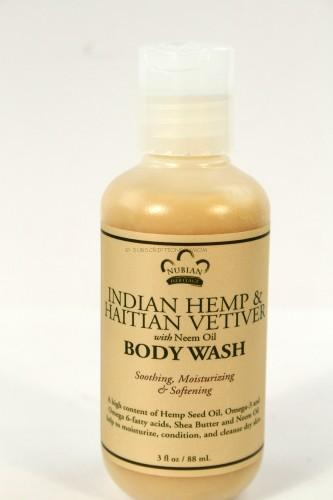 Nubian Indian Hemp & Haitian Vetiver Body Wash