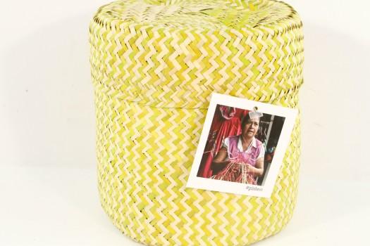Palm Leaf Basket (Mexico)