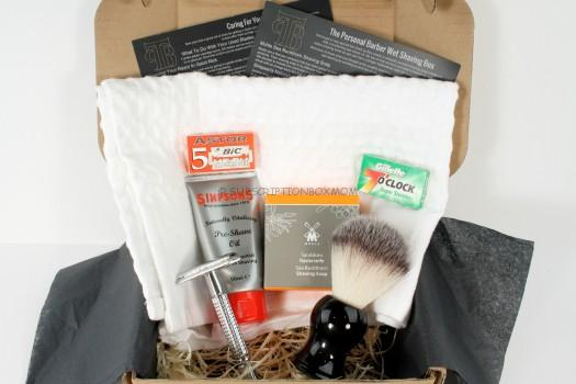 The Personal Barber Welcome Box Review