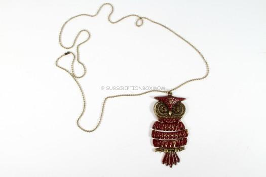 STYLEBOX Custom: Owl Necklace