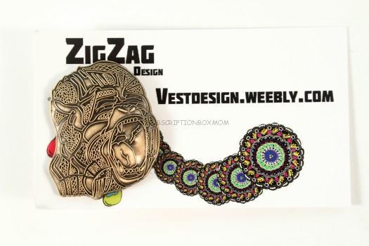 Zig Zag Design Primal-Sapian: