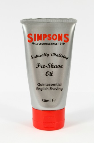 Simpson's Naturally Vitalising Pre-Shave Oil