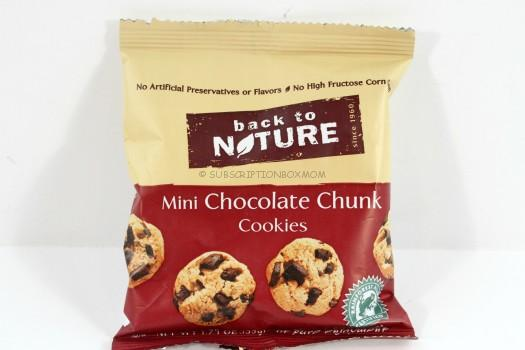 Back to Nature Mini Chocolate Chunk Cookies