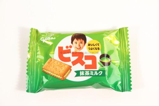 Glico Green Tea Crackers