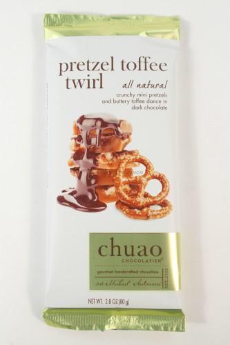 Chuao Pretzel Toffee Twirl