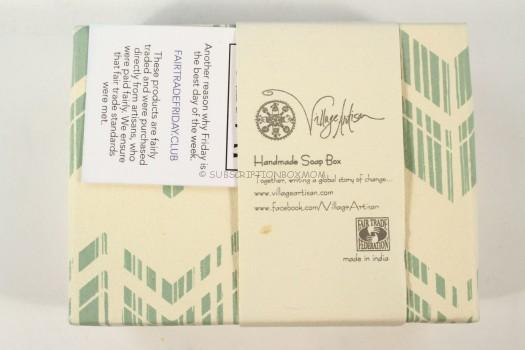 Village Artisan Handmade Soap Box