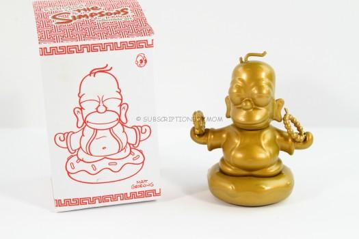 Kidrobot The Simpsons Homer Buddha 7 inch Vinyl Figure