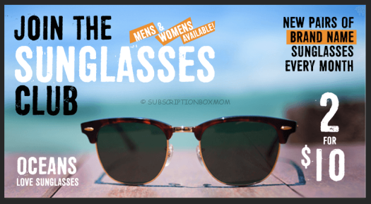 Cheap Sunglasses Subscription
