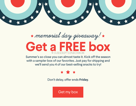 Free Naturebox Subscription Box