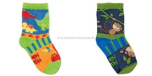 April - September 2013 - Boy: Stephen Joseph Socks
