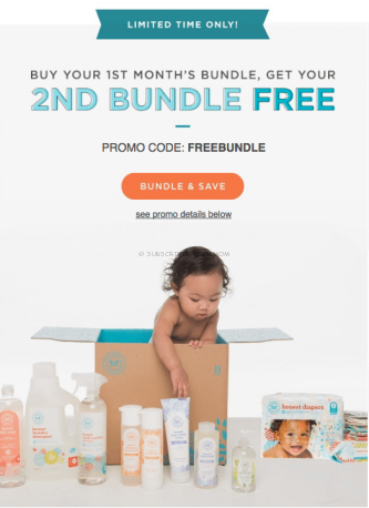 Honest Company Buy 1 Get 1 Free Coupon